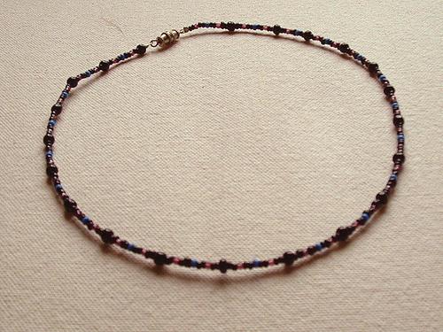 Collier de perles de rocaille
